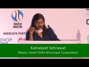 Smt. Kamaljeet Sehrawat, Mayor, South Delhi Municipal Corporation