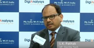 L.K. Pathak, VP – Marketing, Sterlite Tech