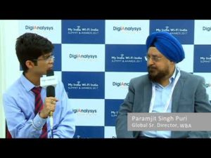 Paramjit Singh Puri, Global Senior Director, Wireless Broadband Alliance