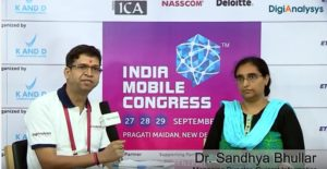 Dr. Sandhya Bhullar, Managing Director, Gujarat Informatics Limited
