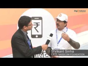 Interview with Mr. Shrikant Sinha, CEO, NASSCOM FOUNDATION