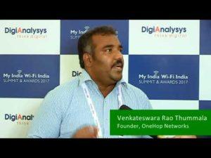 Venkateswara Thummala, CEO, OneHop Networks