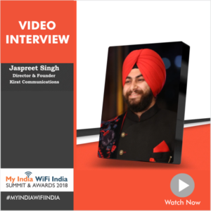 Interview with Jaspreet Singh, Director & Founder, Kirat Communications