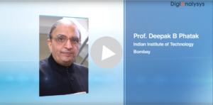 Interview with Prof. Deepak Phatak, Dept. of CSE, IIT Mumbai