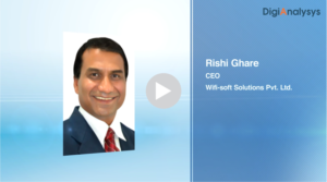 Interview with Mr. Rishi Ghare, CEO, WiFi-soft Solutions Pvt Ltd