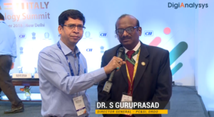 Interview with Dr. S Guruprasad, Director General – PC&SI, DRDO