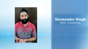 Harmander Singh, Govt. Contractor on Role of Digital India for Creation of a New Age India