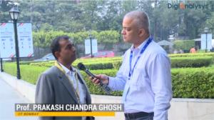 Interview with Prof. Prakash Chandra Ghosh, Deptt. of Energy Science & Engg, IIT Mumbai