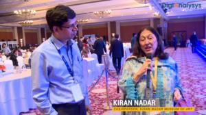 Role of Digitization in art & culture segment: Kiran Nadar, Chairperson, Kiran Nadar Museum of Arts