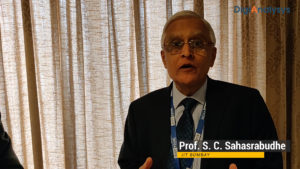 Interview with Prof. S.C. Sahasrabudhe, IIT Bombay