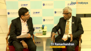 Convergence of Satcom & Broadcasting sector will be a game changer: T V Ramachandran, President, BIF