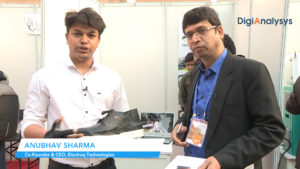 Wearables for solving last mile mobility issues by Anubhav Sharma, Co-Founder & CEO, Electorq Technologies