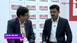 IMC2019: Interview with Vishal Bajpai, Co-founder & CEO, SecureThings