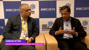 IMC2019: Shekar Ayyar, EVP & GM, Telco & Edge Cloud, VMware