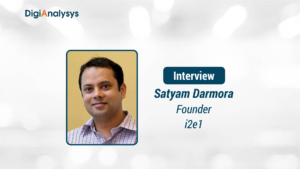 Exclusive Interview with Satyam Darmora, Founder, i2e1